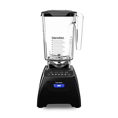 Blendtec Classic 575 Blender - WildSide+ Jar (90 oz) - Professional-Grade Power - Self-Cleaning - 4 Pre-programmed Cycles - 5-Speeds - Black