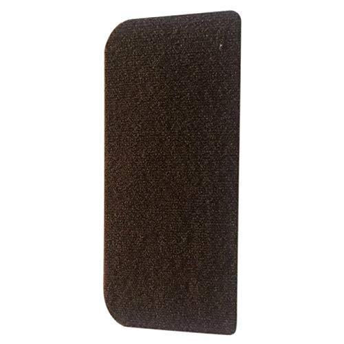BECCYYLY Treppenabdeckungsteppich, Rutschfester Teppich, Selbstklebende Treppenstufenauflage Stufenteppich / 7St