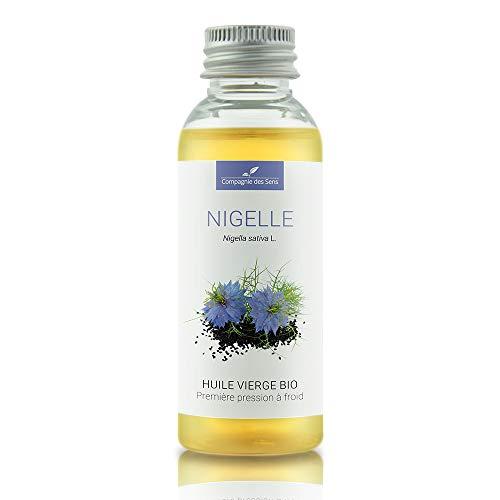 NIGELLE - 50 مل - زيت نباتي عضوي ، عذراء مضمونة وأول ضغط بارد - الروائح - La Compagnie des Sens