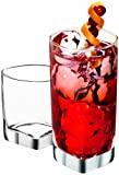 Anchor Hocking Rio Small and Large Drinking Glasses, Set of 16