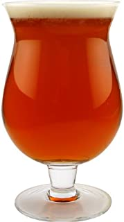 anchor hocking belgian beer glass