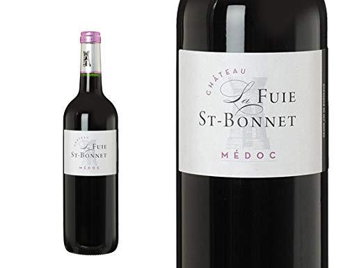 3 Flasche von CHÂTEAU LA FUIE SAINT BONNET 2015 - Médoc - France -Rouge - 0.750 l