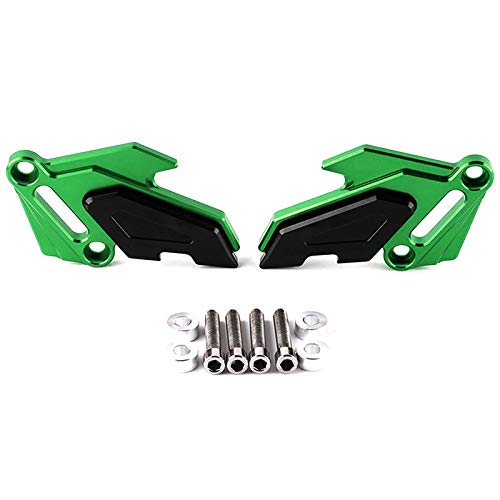 BEESCLOVER For Kawasaki Z900 Z1000 Motorcycle Accessories Guard from Engine Protective Cover Fairing Guard green