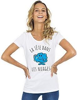 CEST COMPLIQU/É D/ÊTRE UNE PRINCESSE Produit imprim/é dans notre atelier /à Toulouse Monsieur Madame Tshirt Humour Femme