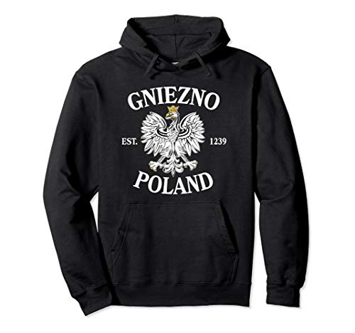 Gniezno Poland Pullover Hoodie