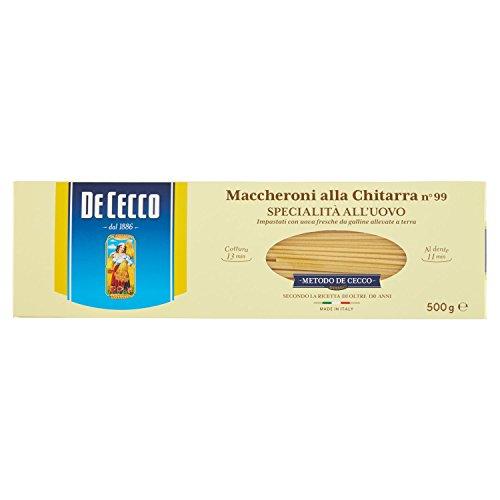 De Cecco Maccheroni alla Chitarra N°99, 500g