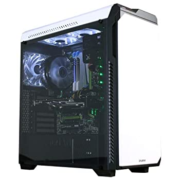 Zalman Z9 Neo Plus ATX Computer/PC Case with 2 x120mm Fan Included Front  1x 120mm Blue LED Fan Included  Rear  2 x 120mm Blue LED Fan Included - White
