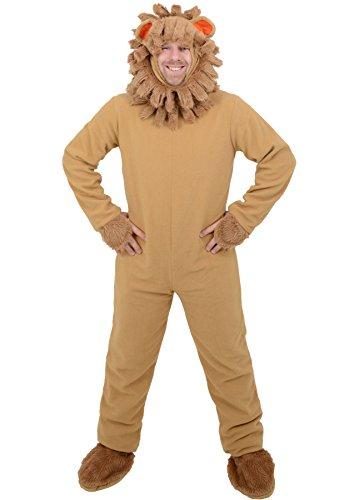 Adulto Mens León Animal Disfraz De Halloween Día Mundial del Libro–Talla única