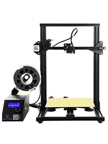 ZLQ Imprimante 3D CR-10 avec lit Chauffant et Grand Volume de Construction Accessoires pour imprimante 300X300X400mm