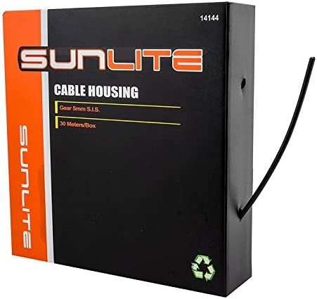 Sunlite Cable Housing in a Box SIS Max 64% OFF x New product Black 30m 5mm