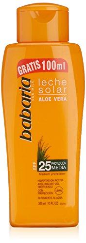 Babaria Sun Line Leche Solar Aloe Vera Spf25 200Ml + 100 gratis