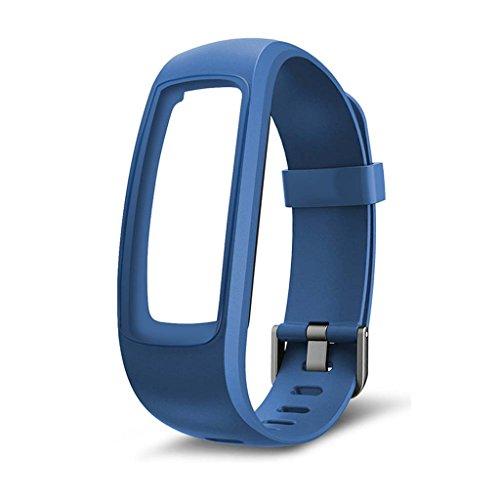siwetg Pulsera De Correa De Repuesto para Monitor Fitness Tracker para Reloj Inteligente ID107 Plus