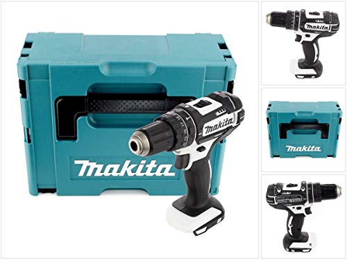 Makita DHP482ZWJ Bohrmaschine, 18 V, inkl. Makpac-Koffer