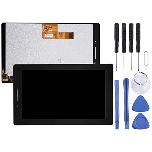 Zhouzl Lenovo LCD Screen LCD Screen and Digitizer Full Assembly for Lenovo Tab3 7 Essential / Tab3-710f (Black) Lenovo LCD Screen (Color : Black)