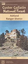 U.S.F.S. Custer Gallatin National Forest (Ashland Ranger District) Map