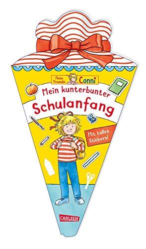 Conni Gelbe Reihe: Mein kunterbunter Schulanfang: Jetzt mit Stickern