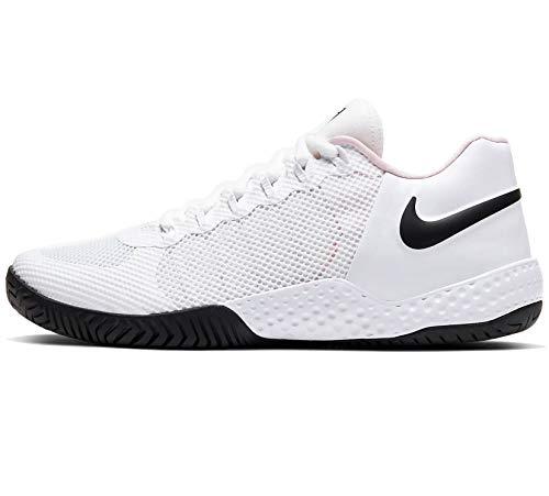 Nike Flare 2 HC, Scarpe da Tennis Donna, Multicolore (White/Metallic Silver/Pure Platinum 000), 37 EU