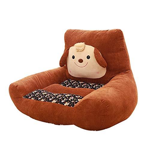 Animal Sofa De Bébé, Douillet Et Moelleux Canapé Garçon Fille Accoudoir Chaise Mini Pouf Poire 5 Couleurs (Color : Brown)