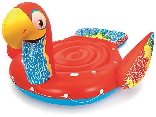Bestway aufblasbare Riesen Papagei-Schwimminsel 475 x 388 x 205 cm