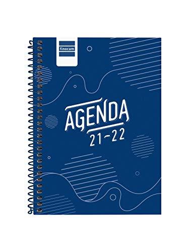 Finocam Agenda 2021 2022 Semana vista apaisada Septiembre 2021, Junio 2022...