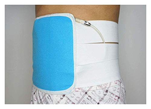Breathable Abdominal Binder Lower Waist Support Belt, Adjustable Surgical Elastic Belly Band Waist Binding Wrap for Post-Operative Care Soft Easy to Clean and Durable 108 (Size : M)
