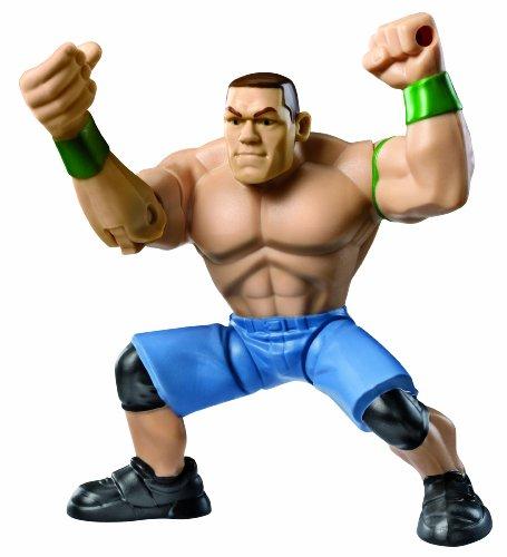 WWE – Power Slammers – John Cena – Figurine Action Motorisée 12 cm