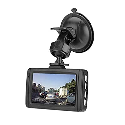 XIANWEI Full HD Car Camera,Car Driving DVR Recorder,Driving Video Recorder Night Vision Car Dashboard Camera,Full HD 1080P 3 Inch IPS Screen Driving Recorder,with Loop Recording, Night Vision by XIANWEI