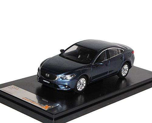 PremiumX Mazda 6 Limousine Blau Grau 3. Generation Typ GJ Ab 2012 1/43 Modell Auto