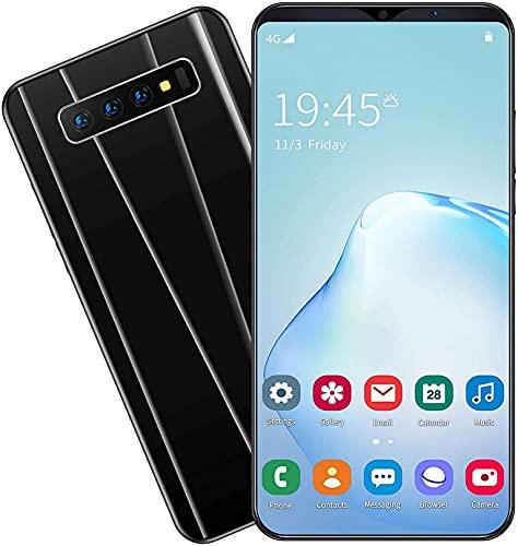 WWJ 4G Celular Smartphone Telefones SIM 5,8'Waterdrop Tela cheia, 4800mAh Big Battery, Android 9.1, câmeras triplas 16MP / 8MP, 4G Dual SIM, Face ID