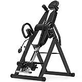 SanyaoDU Heavy Duty Gravity Inversion Table Neck Pain Pliable Retour Thérapie Banc Fitness Body Sculpture Équipement de Remise en Forme