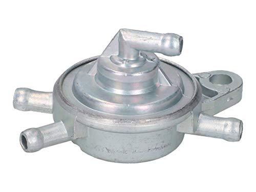 Benzinhahn Unterdruck 4 Anschlüsse für GY6 50-150ccm, Daelim, TGB