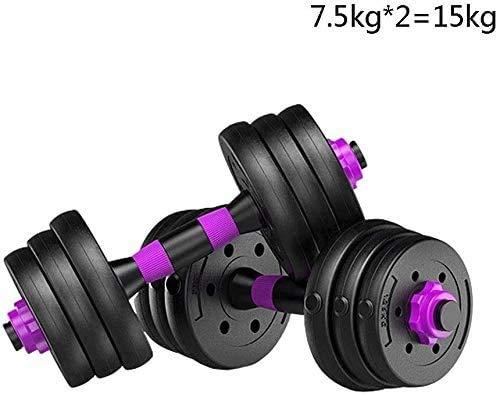 LDM Hantel Einstellbares Handgewicht Langhantel Perfekt abnehmbares Langhantelset Universalpaar Übungsarm Muskel Brustmuskel Kurzhantel