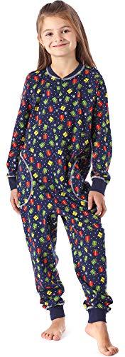 Merry Style Pijama Entero 1 Pieza Vestido de Casa 100% Algod