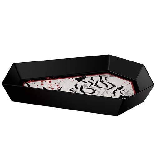amscan Dark Manor Coffin Shaped Bowl   Halloween Decoration
