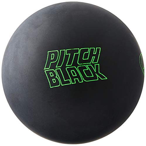 Storm Pitch Black Bowling Ball, 15-Pound