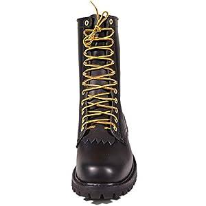 """White's Boots Men's Line Scout Hathorn Explorer - NFPA Smokejumper 10"""", Black - 14 D"""
