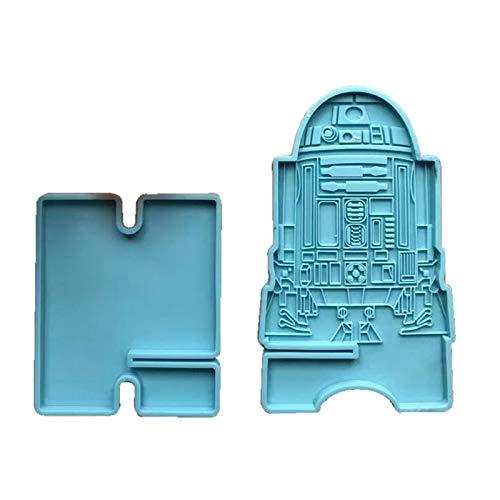 ShapeW La resina de epoxy hecha a mano del teléfono del soporte del teléfono del molde de la resina del silicón del soporte del teléfono