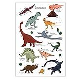 Close Up Kinder Lernposter Dinosaurier - 61 x 91,5 cm -