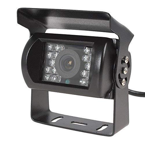 VORCOOL Rückfahrkamera HD Backup Kamera Rückwärtsfahrkamera wasserdicht Nachtsicht DC 12-24V