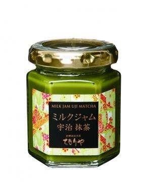 【京銘茶・ちきりや】ミルクジャム宇治抹茶(1個化粧箱入り)