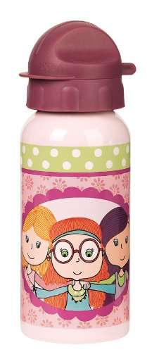 Sigikid 24247 - Trinkflasche, Curly Girlies