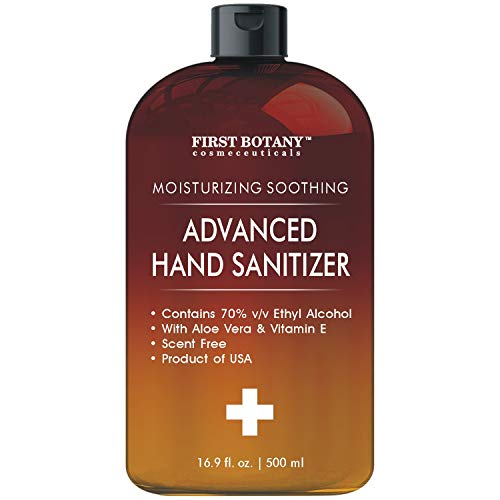 70% Alcohol Disposable Hand sanitizing Gel 500ml, No Water...