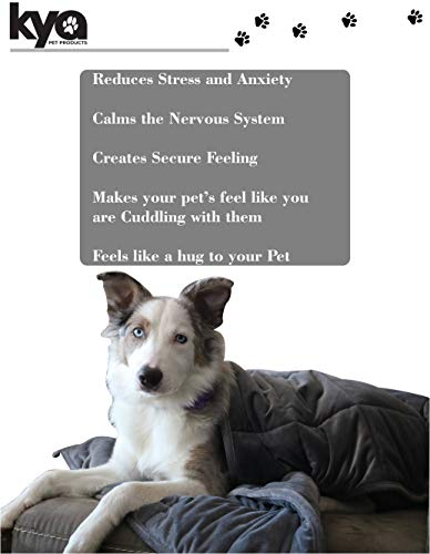 Product Image 6: Kya Pet Products Weighted Pet Blanket
