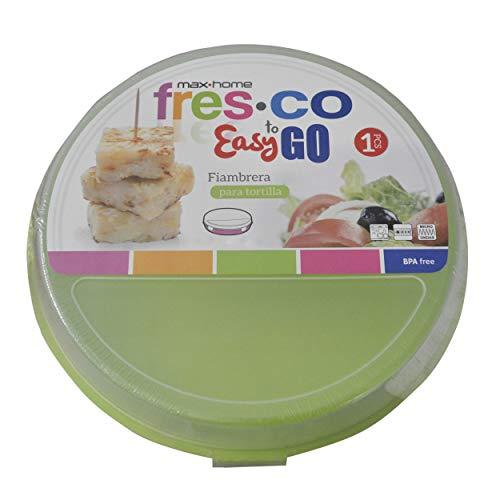 Portatortillas Circular de 20cm para ensaladas/Tortillas. Diseño Colorido - Hogar y más - B