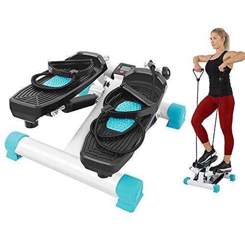 GOTOTOP Mini Máquina Stepper, Steppers de Escalera de Fitness con Monitor...