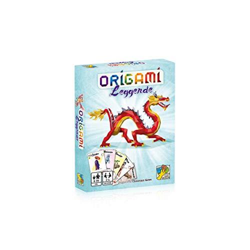 DV Giochi Leggende-Il Segundo Capítulo del Juegos de Mesa Origami-Edición Italiana, Multicolor, DVG9366