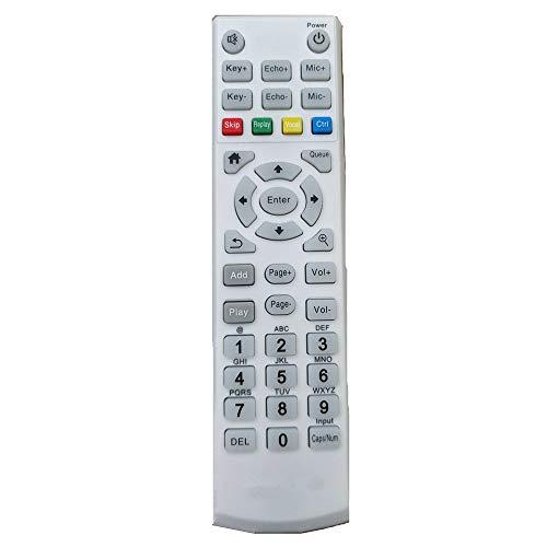 Calvas New remote control suitable for hdkaraoke HDK Box controller