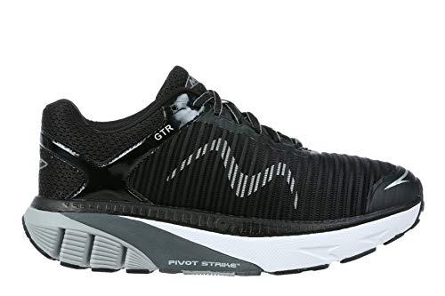 MBT Men's GTR Running Shoe and Walking Shoe with Rocker Bottom Black Size 10.5