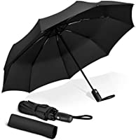 TOPELEK Windproof Umbrella, UV Sun-Block, Fast Drying, Sturdy [9 Ribs] Waterproof Reinforced Frame, Auto Open and Close,...