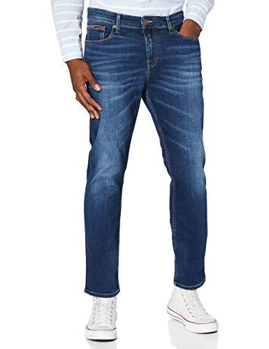 Tommy Hilfiger Herren RYAN RLXD STRGHT ASDBS Jeans, Aspen Dunkelblau Stretch, 33W / 32L